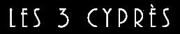 Les 3 Cyprès – Mazets de charme à Venasque en Provence Logo
